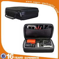 Professional manufacture customized portable EVA electrician zipper small tote tool bag