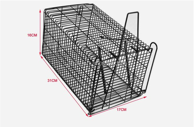 31.75'x12.75'x12' Animal Trap Foldable Raccoon Rabbit Woodchucks Mouse Cage