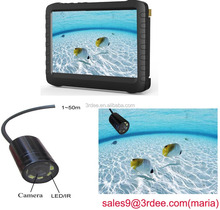 Portable Night Vision Underwater Fish Finder Video Camera with 50m cable