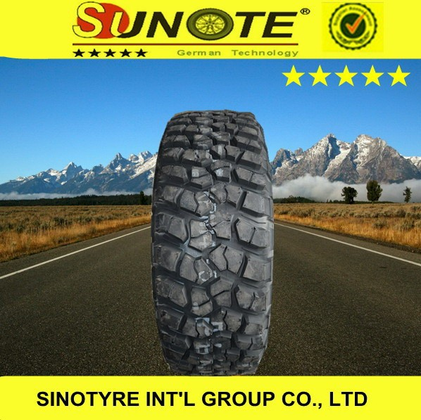 off road 4x4 germantechnology radial tubless car tyre prices