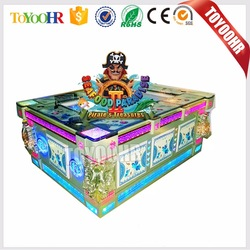 Use The Bill acceptor and Printer Shooting Fish Table Gambling Hunter Arcade Cheat Fishing Game Machine