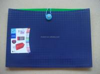 most popular 13 pockets zipper expanding file folder