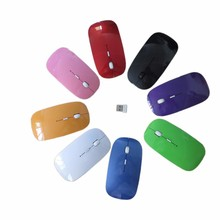 Christmas Gifts Ultrathin 2.4ghz usb Wireless Optical Mouse Driver