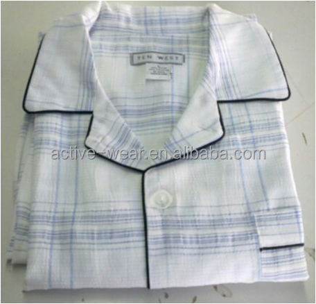 stock lot in guangzhou polyester white hospital patient pyjamas