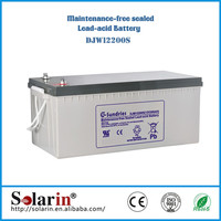 Quality and quantity assured 12v solar battery 12v 1000ah vrla