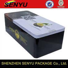 Custom Design Tea Packaging Metal Box Wholesale