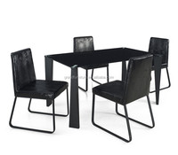 modern dining room furniture glass dining table sets