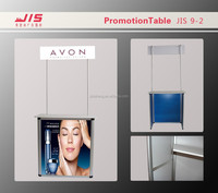 Hot sale PVC sheet advertising exhibition stand table