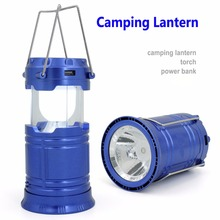 Alibaba Private Label Rechargeable LED Solar Collapsible Camping Lantern