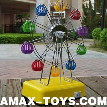 eo-817603 toy ferris wheel Children music plastic toys ferris wheel