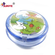 Childhood interesting wholesale mini plastic light yoyo