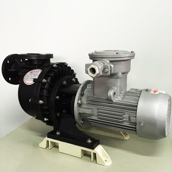 Self-priming acid-base pump self-priming pump for chemical sewage 1hp self-priming pump explosion-proof motor