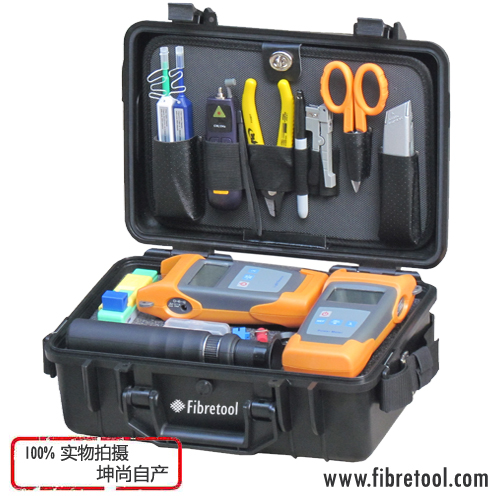 HW-310T Fibretool Fiber Optic Test Inspection &Cleaning Tool Kit With Power Meter