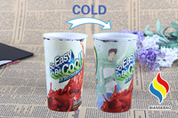 Customized 600ml Magic Cold Color Changing Mood Cup For Cola Promotional Items