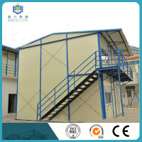 prefab store small mobile movable hurricane proof prefab houses with CE certificate