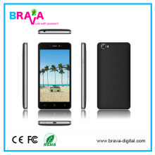 Super Slim Android 5.0 MTK 6580A 3G Quad core 1.3 GHz 5 inch Smart Phone With 4000mAh Long Battery Life