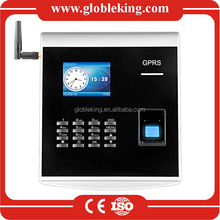 Sim Card biometric fingerprint time attendance machine with gprs and management software