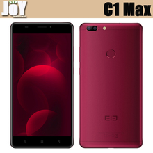 FingerPrint Unlock 6.0 Inch MT6737 Quad Core 32GB ROM Rear Dual Camera Elephone C1 Max 4G LTE Android 7.0 Phone