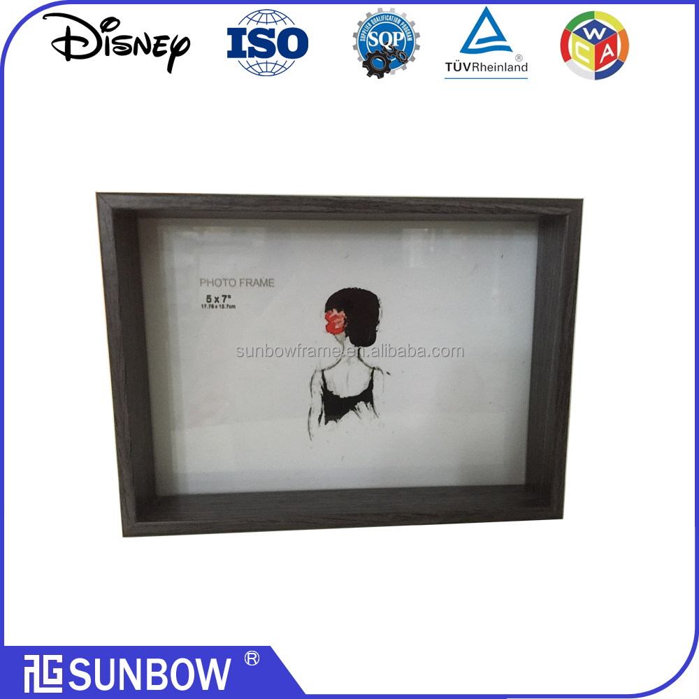 "wholesale chinese 5x7"" wood picture frames"