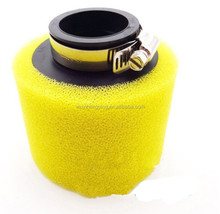 yellow foam 35mm air filter for Dirt bike 50cc-125cc ATV scooter