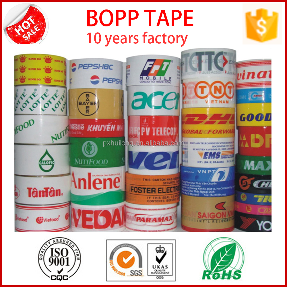 factory wholesale price packing tape with logo
