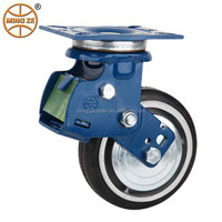 "Shock absorption 4""/5""/6"" heavy duty swivel pu caster"