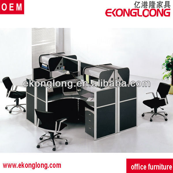 4 people office desk