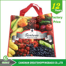 Promotional Shopping pp woven bags for rice