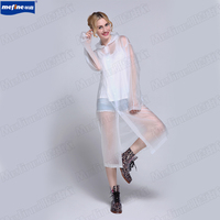 cheap promotional adult pvc long raincoat