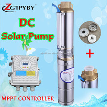 micro solar pumps submersible 50 m 48 volt dc solar pump