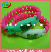Twisted Silicone Watch