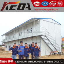 K Modular Cheap Prefabricated House Worker Labour Camp Temporary Site Office