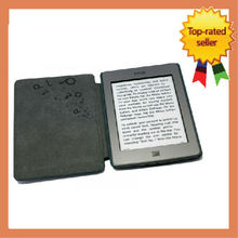 LaPoueze KINDLE Touch Smart Case Cover Premium Leather Fix with Speaker Wholesales Kindle Cover