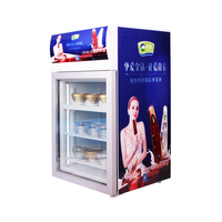 Ice cream Freezer, mini freezer, 120L , countertop