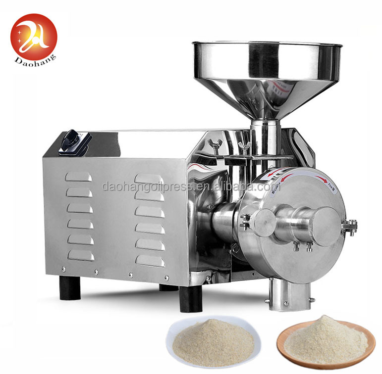 Commercial grain powder mill machine / cereal grinding machine / flour mill machine