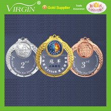 New design metal acrylic sports medals and trophies with customized logo