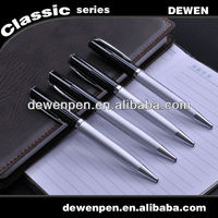 promotional good design metal pen pocket clips, metal pen twsit