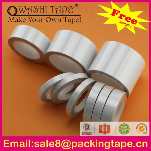High quality masking red film liner pet double sided tape for stationery