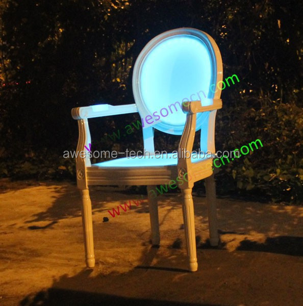 dining room furniture illuminated chair