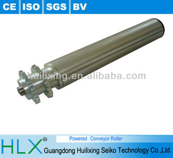 Powered Conveyor Roller,Iron Teeth Roller