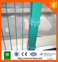 Professional Anping factory powder coated welded wire mesh fence fasteners for sale
