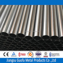 Polished Finish Dia 101.6mm SS 310 Solder Stainless Steel Tube