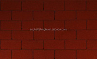 Modified single layer 3 tab red asphalt shingles price