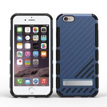 Customisable Protective Armor 3 In 1 Kickstand Tpu Pc Cool Smartphone Shell Mobile Phone Cover Case For Iphone 6