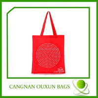 Promotional polyester tote bag for shopping