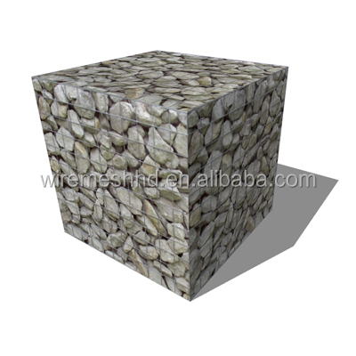 100mmX80mm gabions rolls hot dip galvanized hexagonal wire mesh