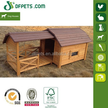 DFPETS DFD3012 Custom Garden Wooden Dog Crate