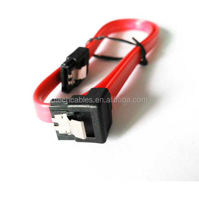 right angle 7 pin sata serial ata male to male power cable