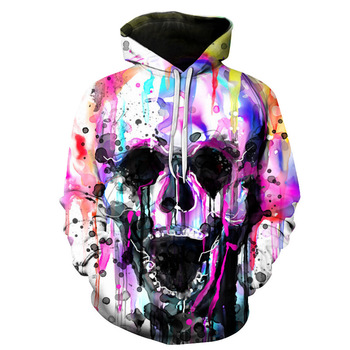 Customizable sublimation hoodies high quality 3D clothing big size