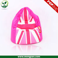 UK flag printed baby bean bag sofa wholesale bean bag cover